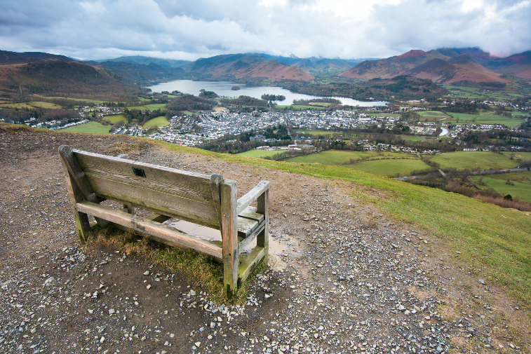 Family Friendly Walks Lake District Latrigg