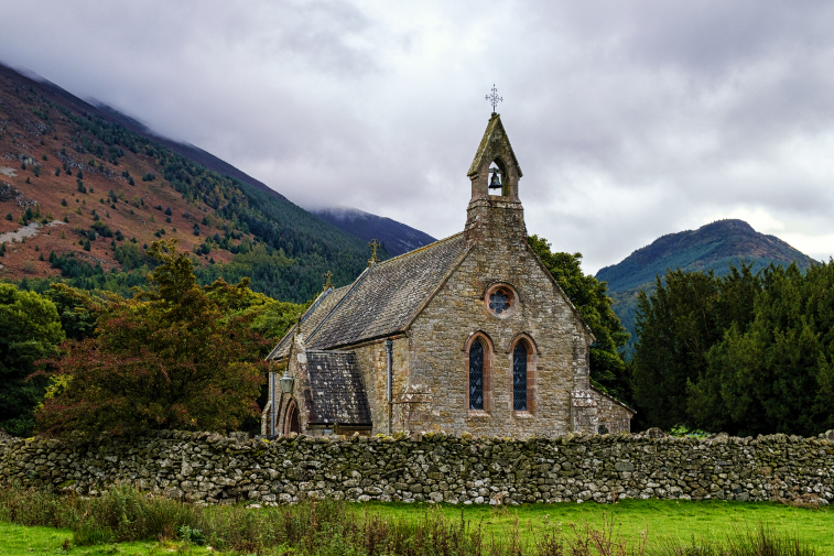 Family Friendly Walks Lake District St Bega Church Mirehouse
