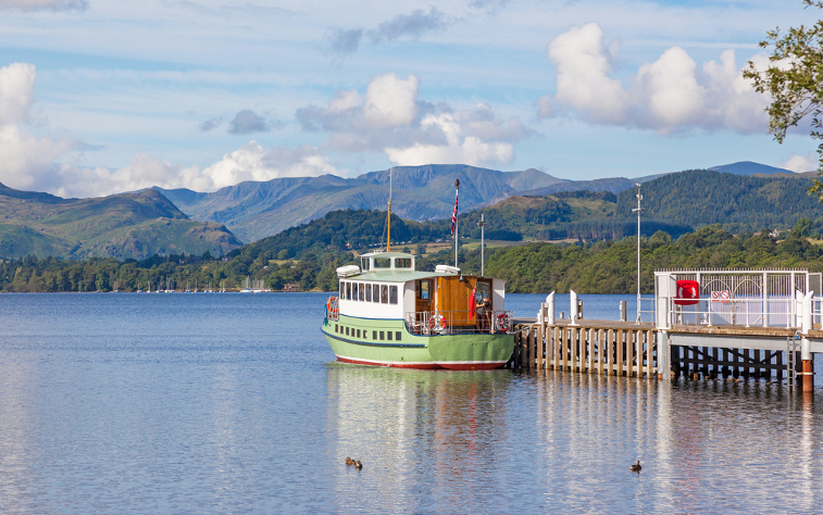 Family Days Out in the Lake District Ullswater Steamer