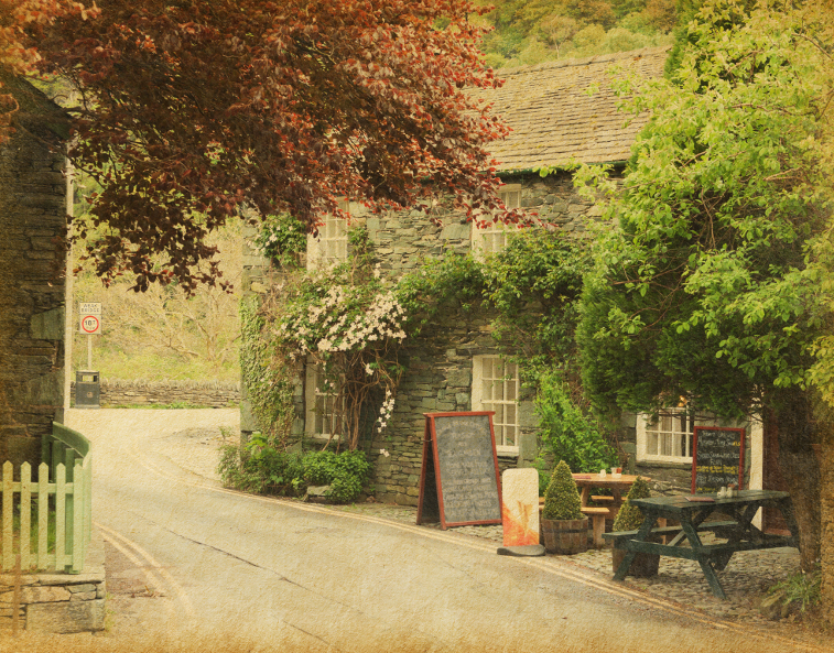 Lake District Autumn Pub