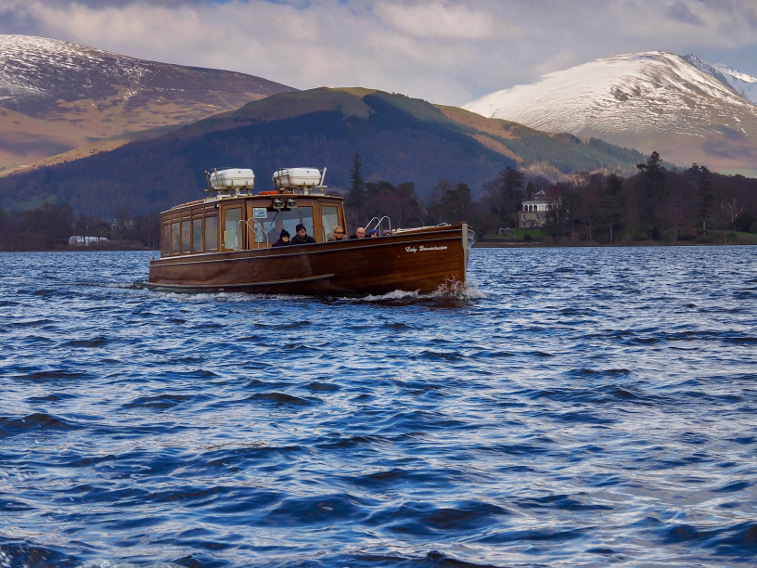 Winter Lake District Keswick Launch