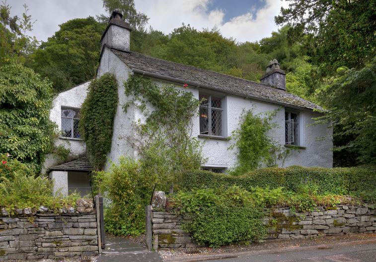 lake district history, Dove Cottage