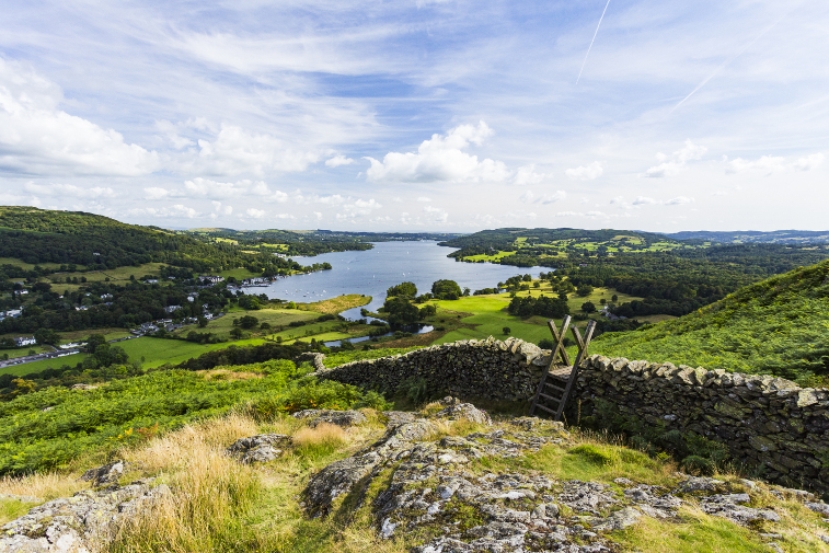 Family-Friendly Walks in the Lake District Loughrigg Fell