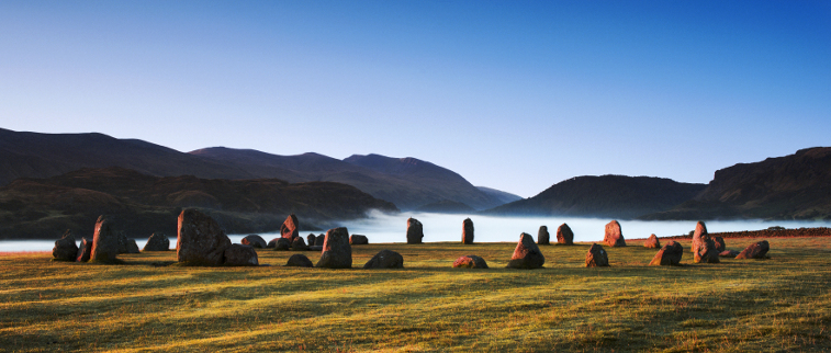 lake district history, castlerigg stone circle